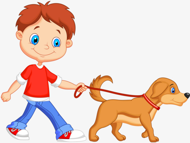 Walk dog clipart 7 » Clipart Station.