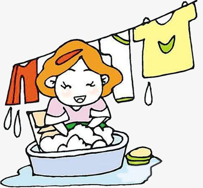 Mum Is Happy To Wash Clothes PNG, Clipart, Clothes, Clothes.