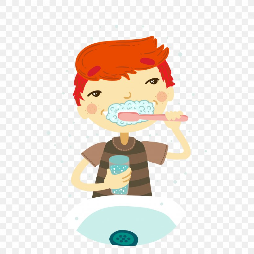 Tooth Brushing Face Clip Art, PNG, 3333x3333px, Tooth.