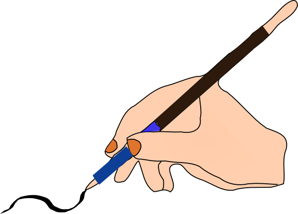Writing Clipart.