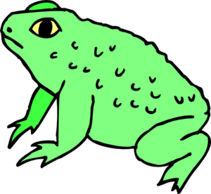 Toad Clip Art Images.