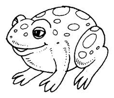 Toad clipart black and white 3 » Clipart Station.