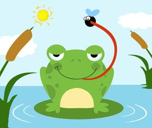 Pond Clipart Image.