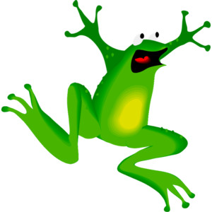 Frog and Toads Clipart.