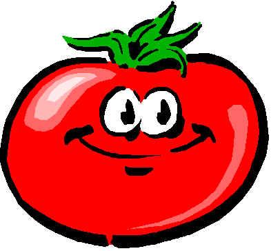 Cartoon Tomato Clipart.