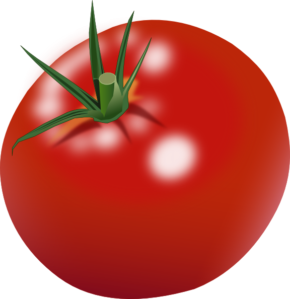 Tomato Clip Art at Clker.com.