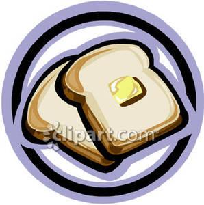 Plate of Toast.