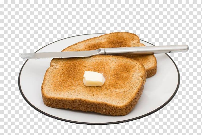 Toast Breakfast Milk Bread, Breakfast breads transparent.