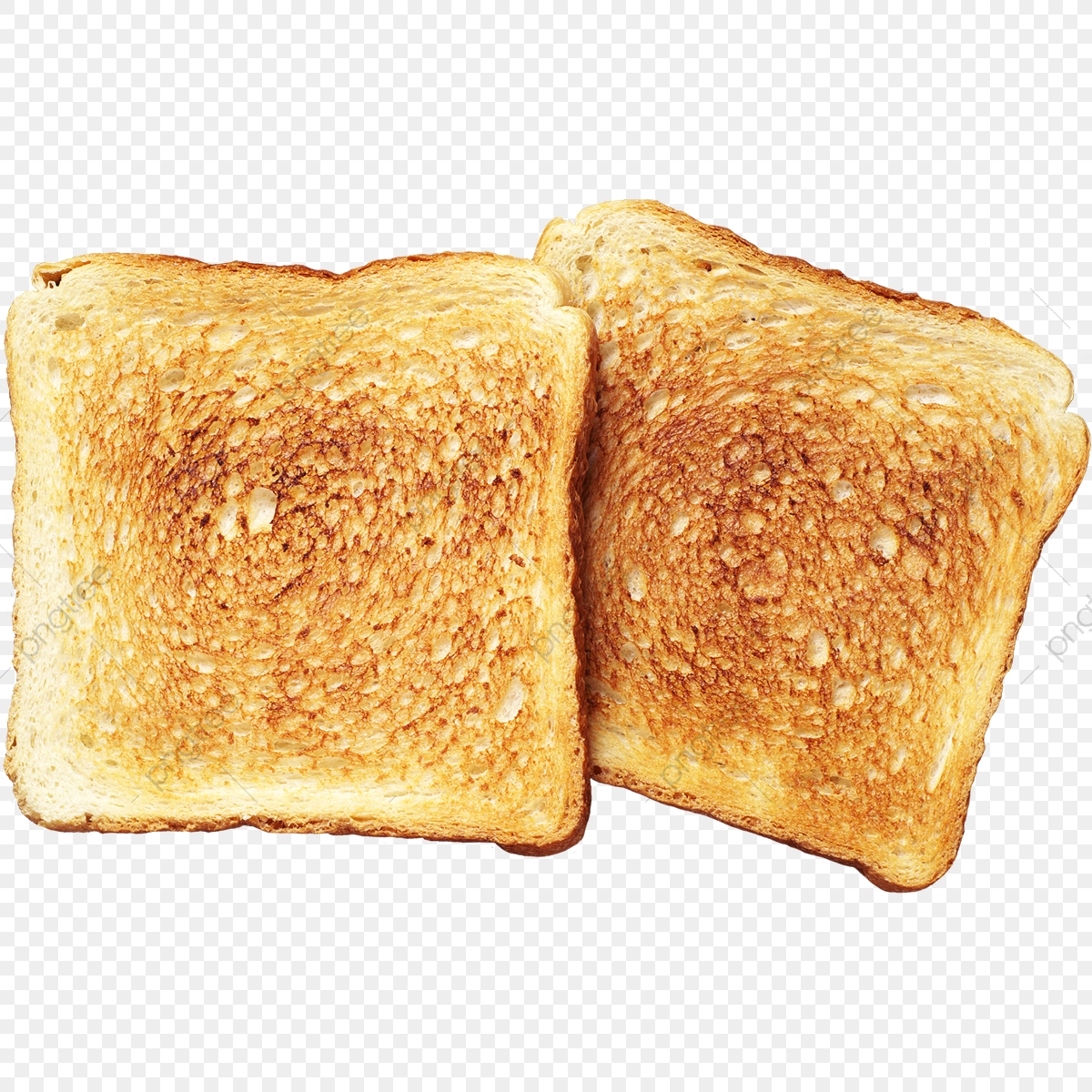 Fried Toasted Bread, Fried Toasted, Toast, Toast Bread PNG.