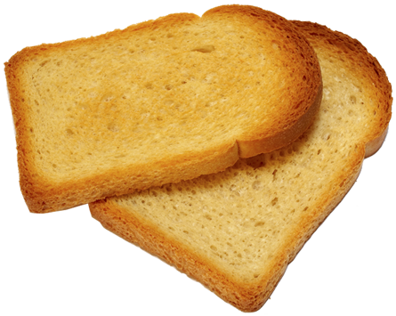 Download Free png Toast Transparent Background.