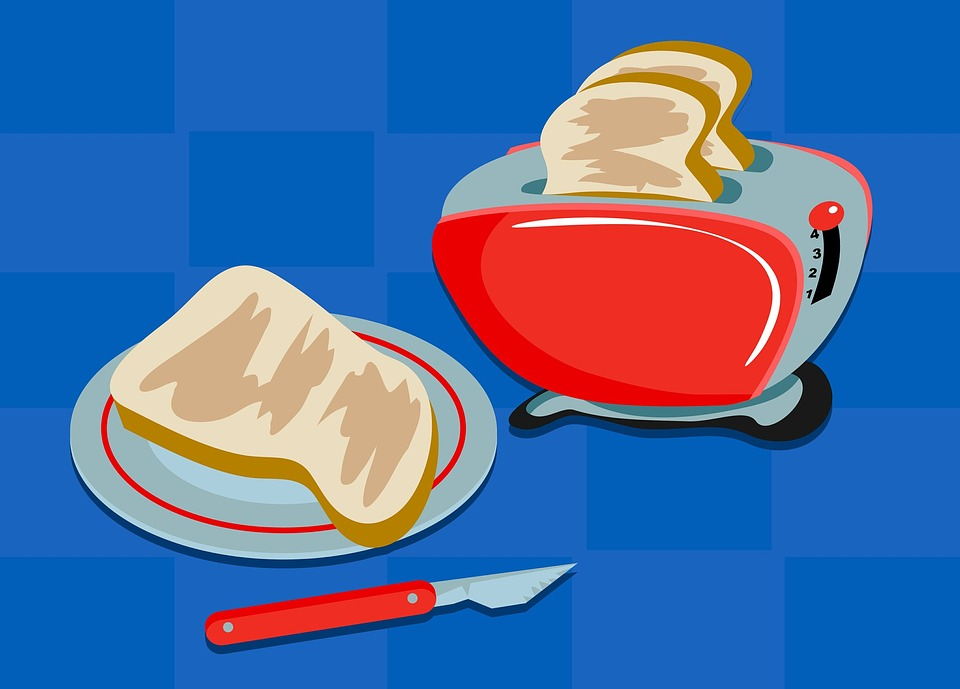 Free illustration: Toast, Bread, Breakfast, Snack.