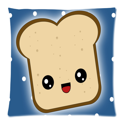 Toast Cute Clipart.