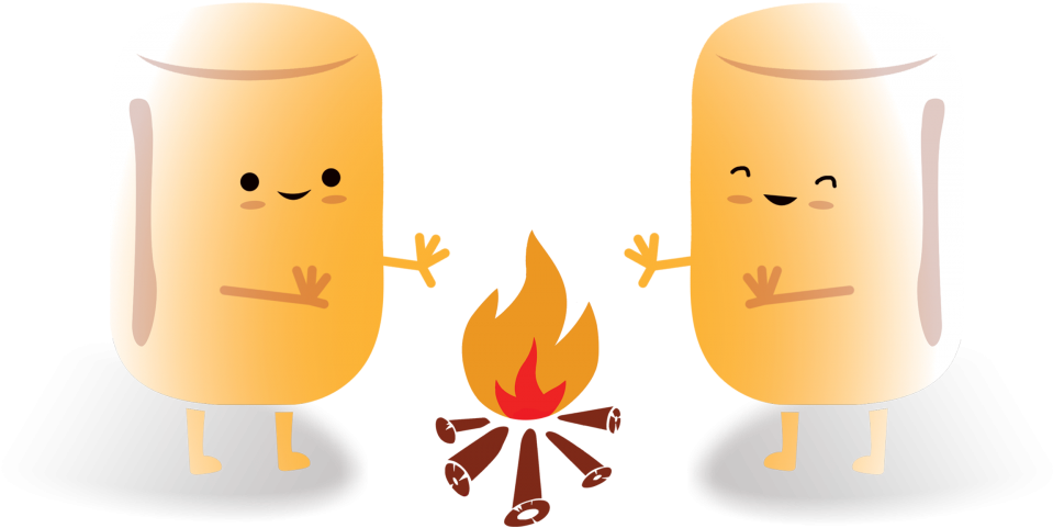 HD Clip Art Free Toasted Marshmallow Clipart.