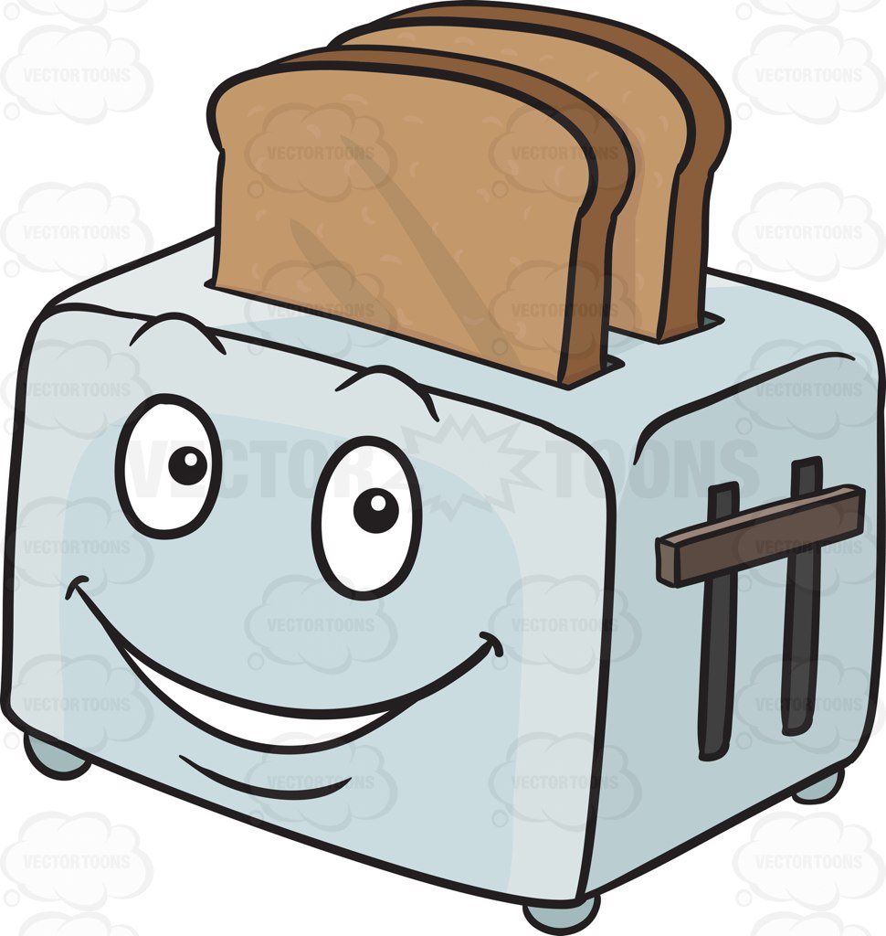 Collection of Toaster clipart.