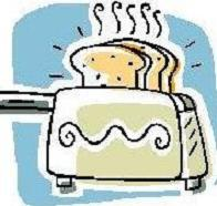 Free Toaster Clipart.
