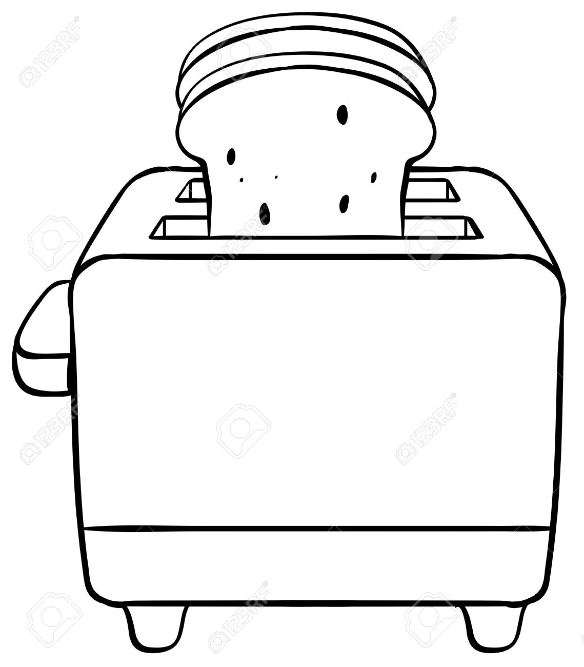 91 Toaster free clipart.