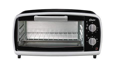 Amazon.com: Oster Toaster Oven, 4 Slice, Black (TSSTTVVG01.
