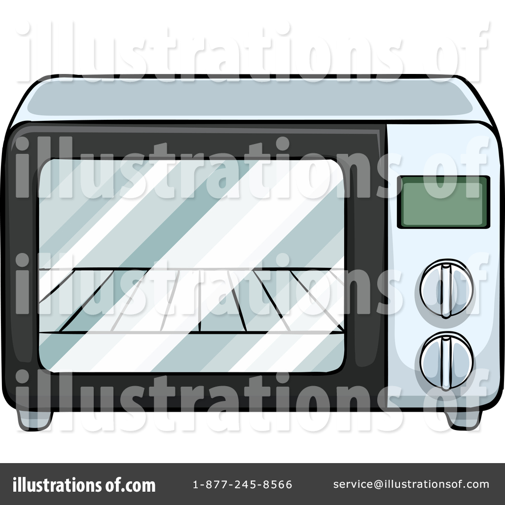 Toaster Oven Clipart #1452509.