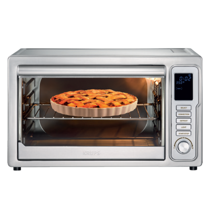 KRUPS Deluxe Toaster Oven with Convection Heating OK710D51.