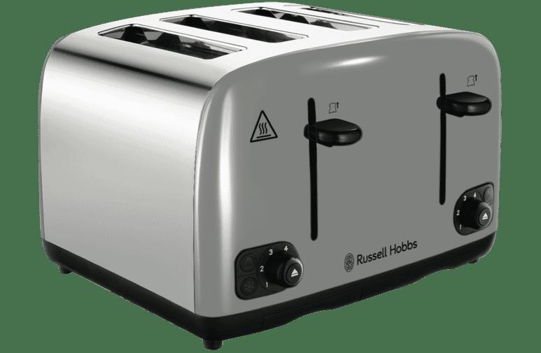 Russell Hobbs RHT440GRY Legacy 4 Slice Toaster.