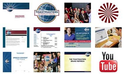 Toastmasters Brand Portal.