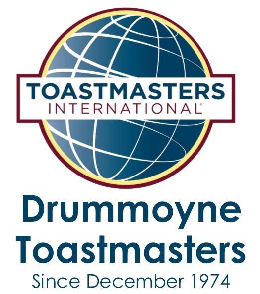Drummoyne Toastmasters Club.