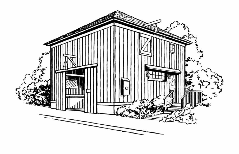Barn House.