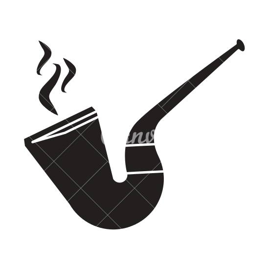 Tobacco Pipe Leprechaun Smoke.