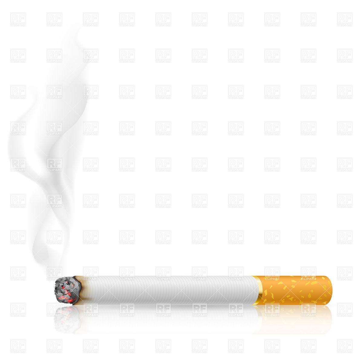 Clothes Of Cigarette Smoke In Clipart.