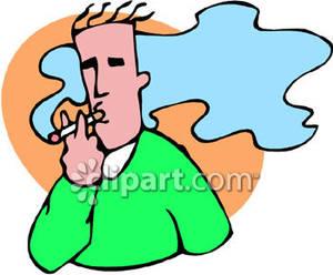 Free clipart cigarette smoking.