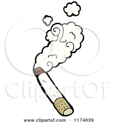 Clipart smoking cigarette.
