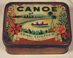Assorted Vintage Tobacco Tins.
