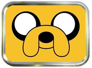 JAKE THE DOG 2oz GOLD TOBACCO TIN,STASH CAN,STORAGE TIN.