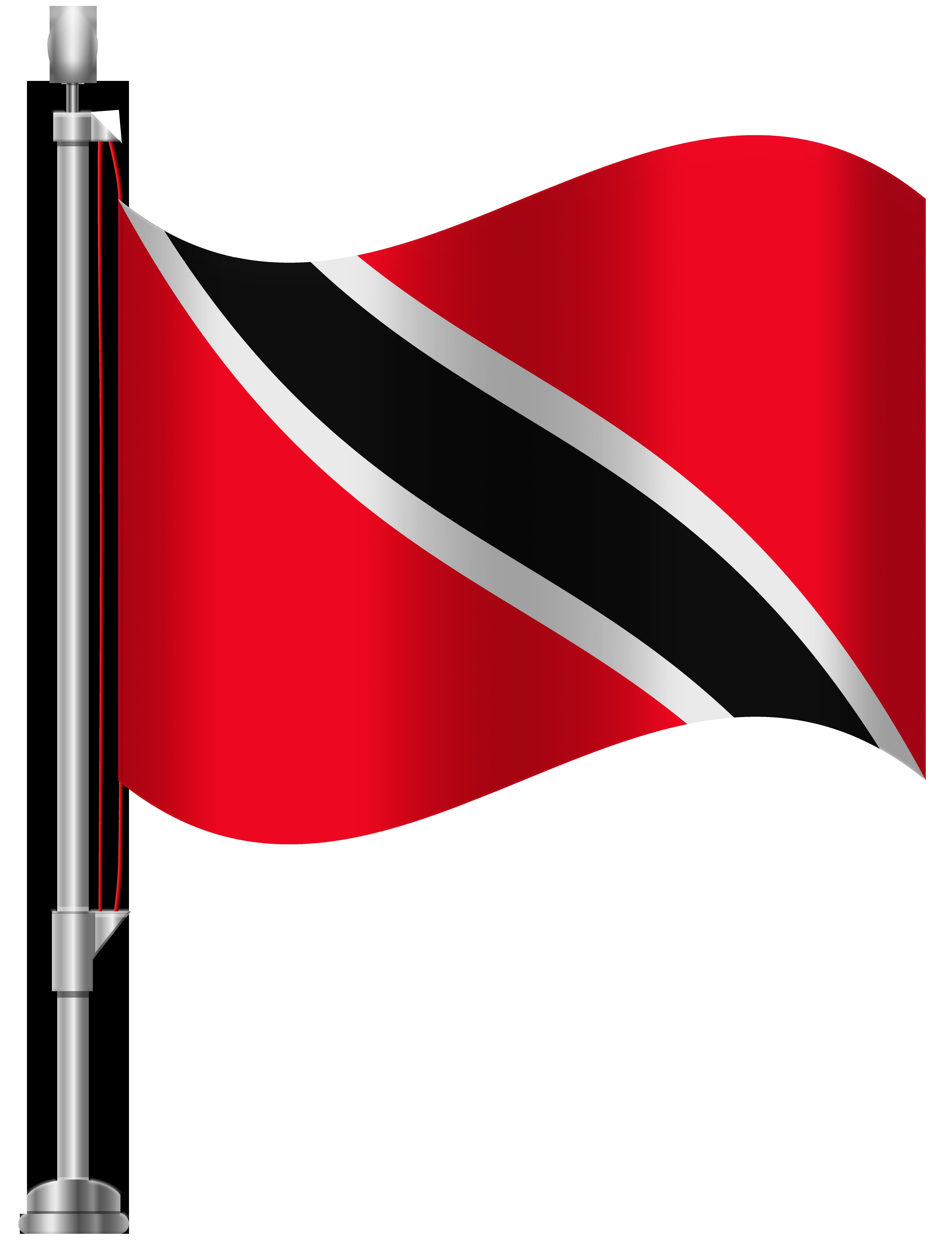 Trinidad and Tobago Flag PNG Clip Art.