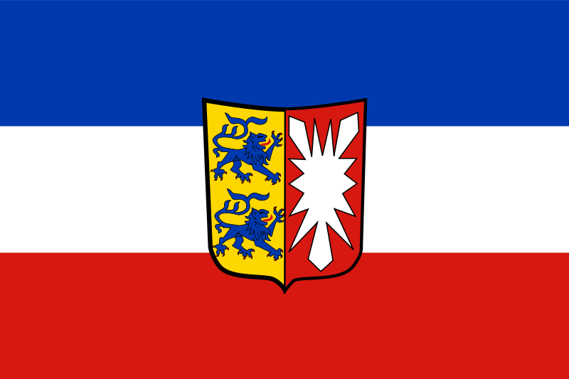 Free Clipart: Flag of Schleswig.