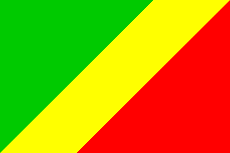 Free Clipart: Flag of Congo.