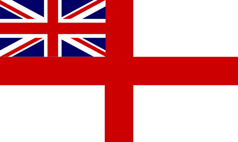 Free Clipart: Historic Flag of the English Royal Navy.