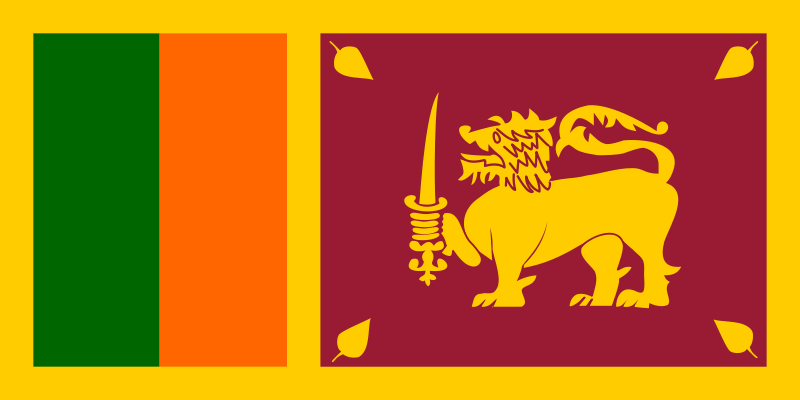 Free Clipart: Flag of Sri Lanka.