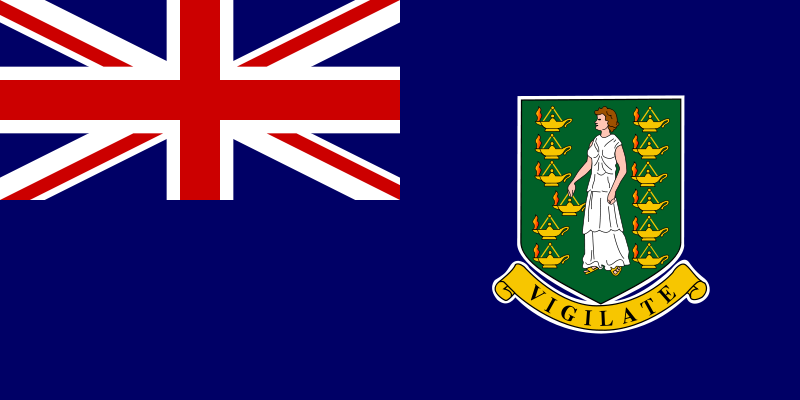 Free Clipart: Flag of British Virgin Islands.