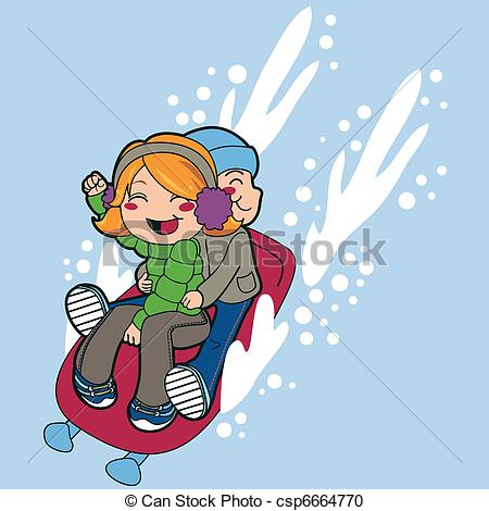 Toboggan Clip Art and Stock Illustrations. 386 Toboggan EPS.