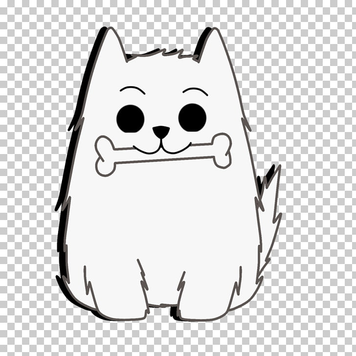 Whiskers Cat Snout White , Toby Fox PNG clipart.