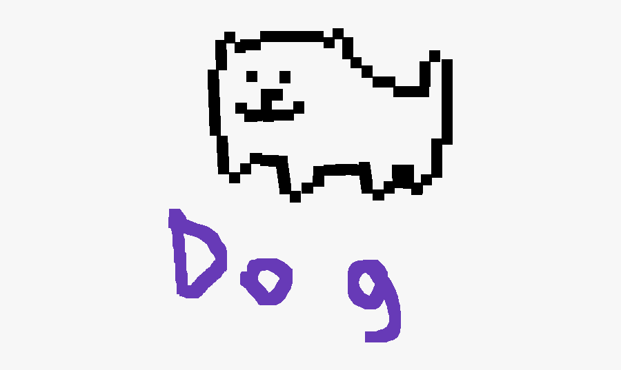Undertale Toby Fox Dog , Free Transparent Clipart.