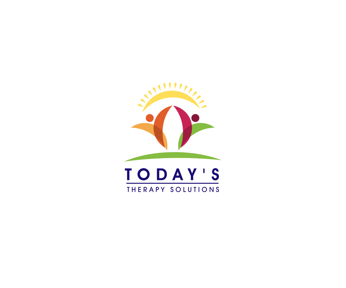 Elegant, Playful Logo Design for Today\'s Therapy Solutions.