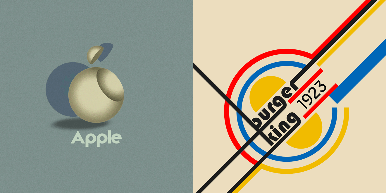 Here\'s What Today\'s Brand Logos Would Look Like If They\'d.