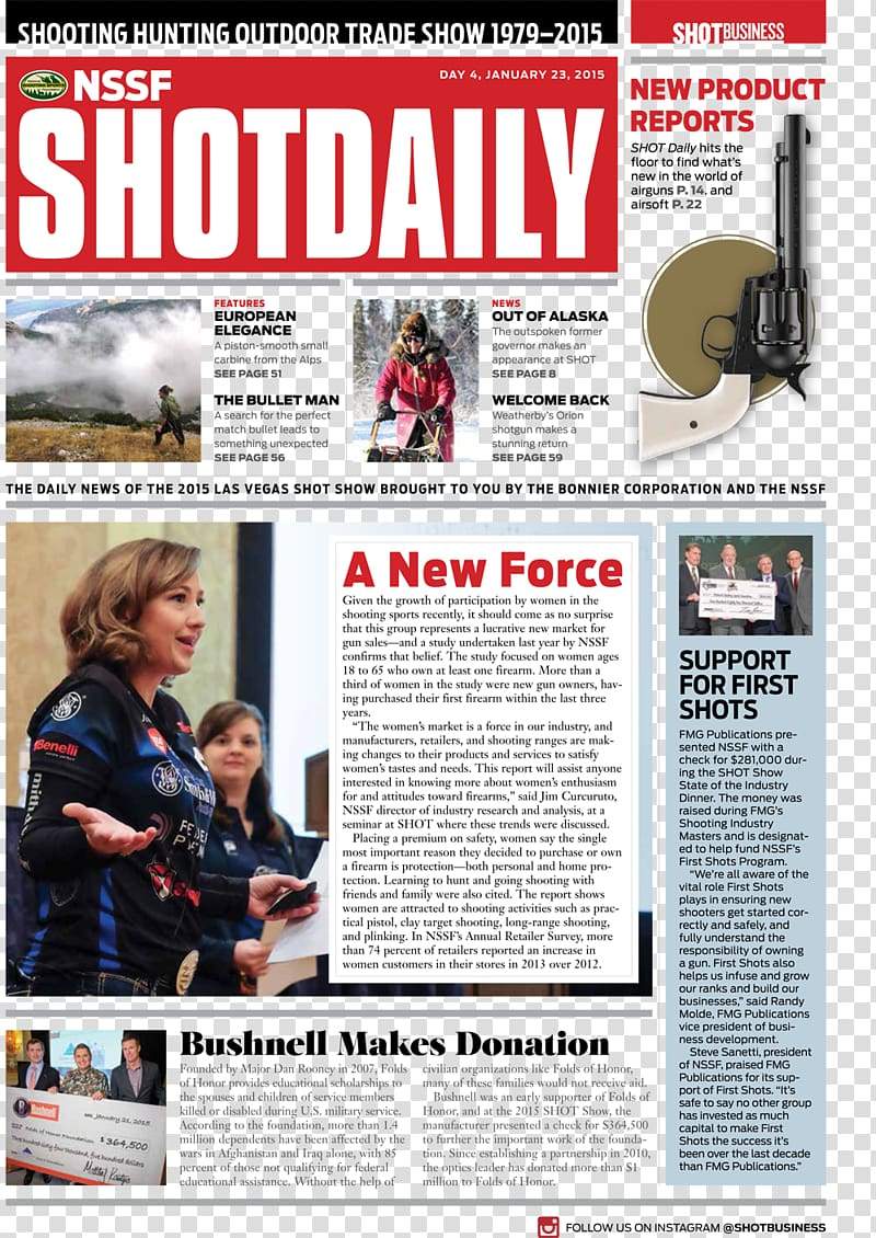 SHOT Show National Shooting Sports Foundation Benchrest.