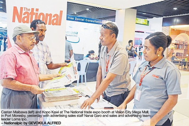 Visit us and get a discount, says PNG\'s biggest newspaper.