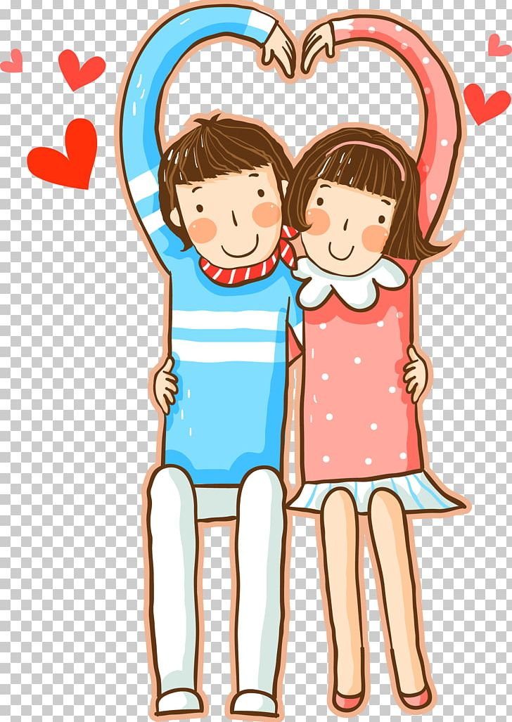 Significant Other Cartoon Heart PNG, Clipart, Area, Art.