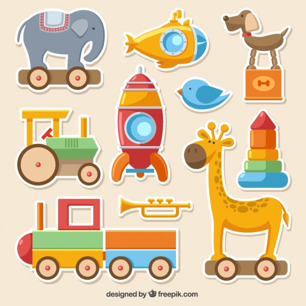 Toys Vectors, Photos and PSD files.