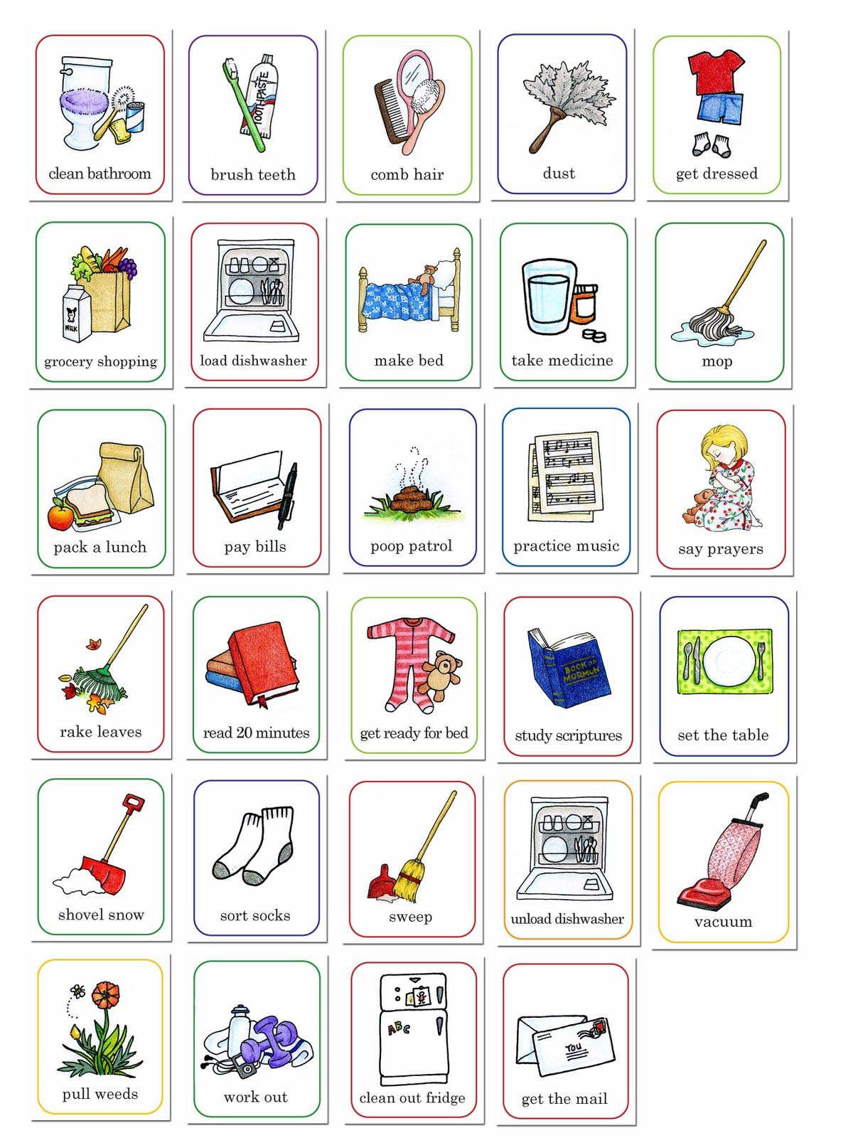 Free Chores Cliparts, Download Free Clip Art, Free Clip Art.