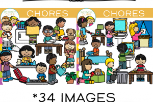 Children chores clipart 8 » Clipart Station.